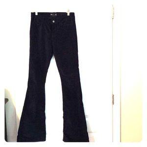 Size 26 wide flare velvet Jean